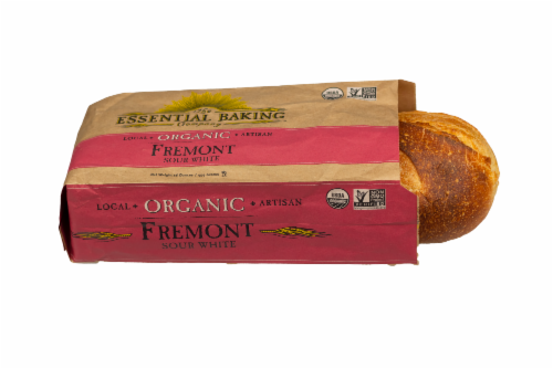The Essential Baking Company Organic Fremont Sour White Artisan Bread Perspective: front