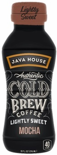 Java House Cold Brew Coffee Light Sweet Mocha Perspective: front