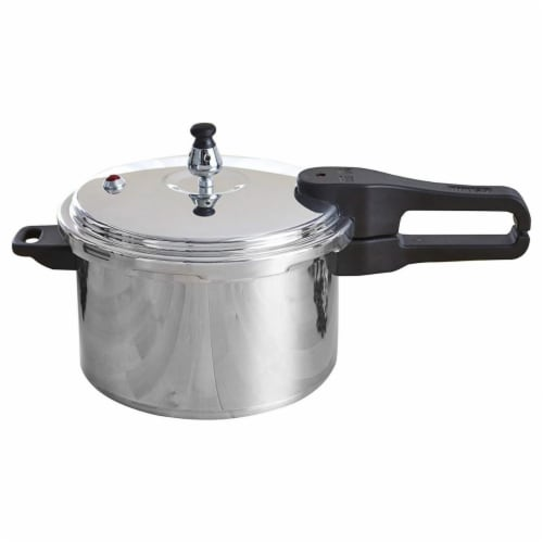IMUSA A41780401T 4 qt. Pressure Cooker Perspective: front
