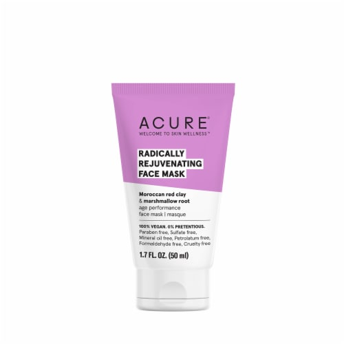 Acure Radically Rejuvinating Face Mask Perspective: front