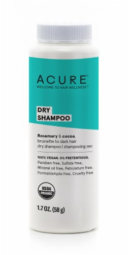 Acure Brunette to Dark Hair Dry Shampoo Perspective: front