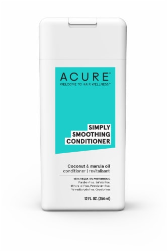 Acure® Simply Smoothing Coconut & Marula Oil Conditioner Perspective: front