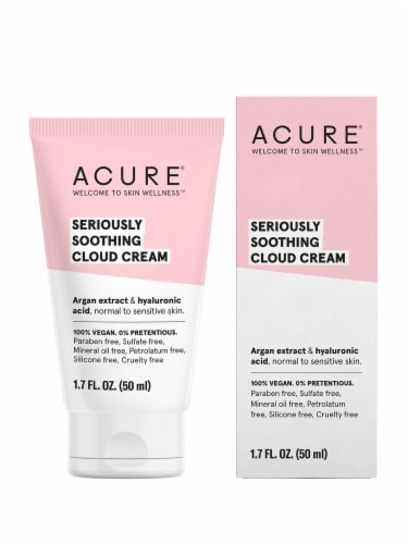 Acure  Seriously Soothing Cloud Cream Perspective: front