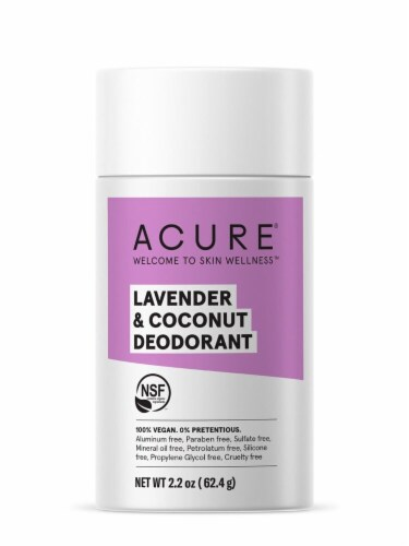 Acure Lavender & Coconut Deodorant Stick Perspective: front