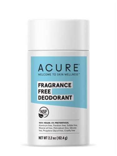 Acure Fragrance Free Deodorant Stick Perspective: front
