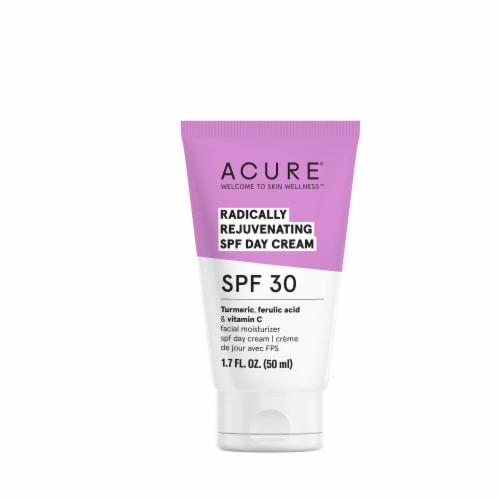 Acure Radically Rejuvenating Day Facial Cream SPF 30 Perspective: front