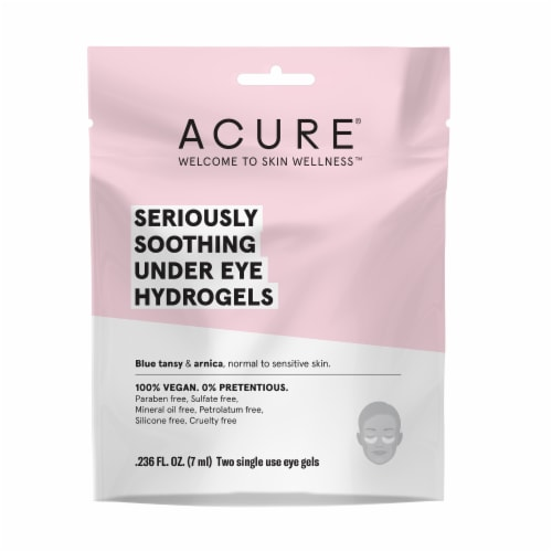 Acure Seriously Soothing Under Eye Hydrogels Perspective: front