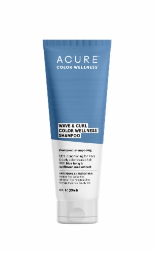 Acure Wave & Curl Color Wellness Shampoo Perspective: front