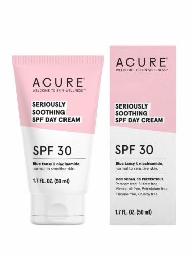 Acure Seriously Soothing SPF 30 Day Cream Perspective: front