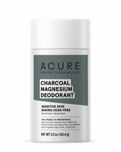 Acure Magnesium & Charcoal Deodorant Perspective: front