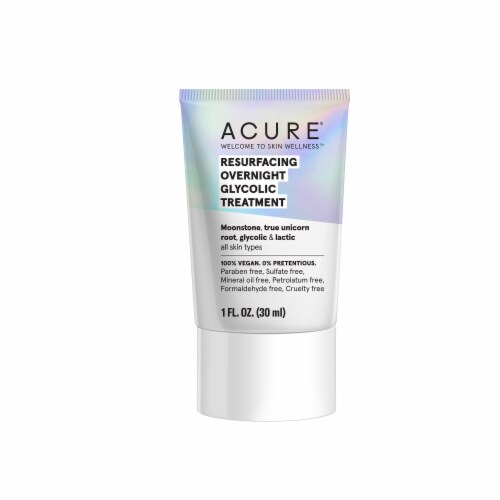 Acure Resurfacing Overnight Glycolic Treatment Perspective: front