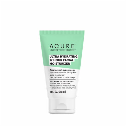 Acure Ultra Hydrating 12 Hour Moisturizer Perspective: front