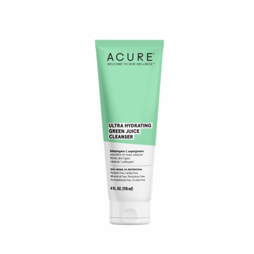Acure Ultra Hydrating Green Juice Cleanser Perspective: front
