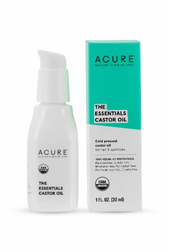 Acure The Essentials Castor Facial Oil Perspective: front