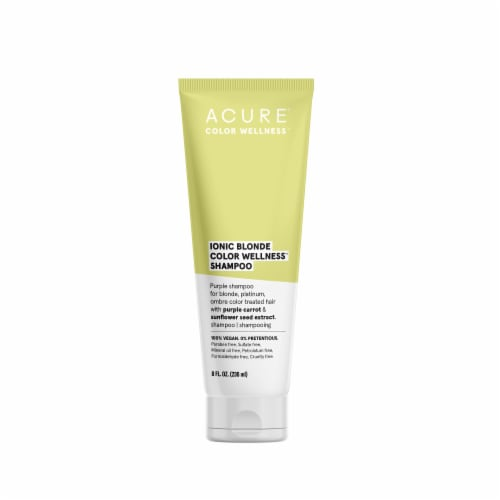 Acure Ionic Blonde Shampoo Perspective: front