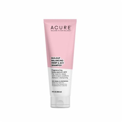 Acure Buildup Balancing Hemp & ACV Shampoo Perspective: front