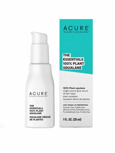 Acure The Essentials 100% Plant Squalane Oil Perspective: front