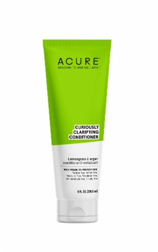 Acure Lemongrass & Argan Curiously Clarifying Conditioner Perspective: front