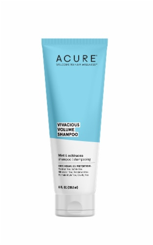 Acure Mint and Echinacea Vivacious Volume Shampoo Perspective: front
