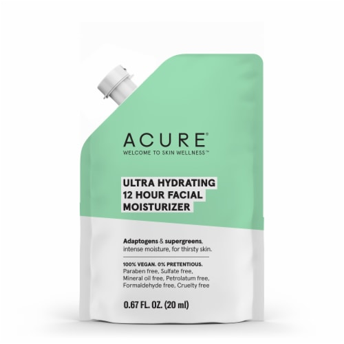 Acure Ultra Hydrating 12 Hour Facial Moisturizer Perspective: front