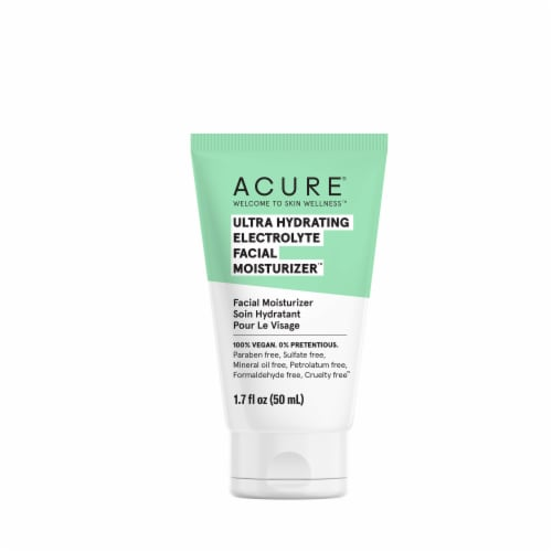 Acure Ultra Hydrating Electrolyte Facial Moisturizer Perspective: front