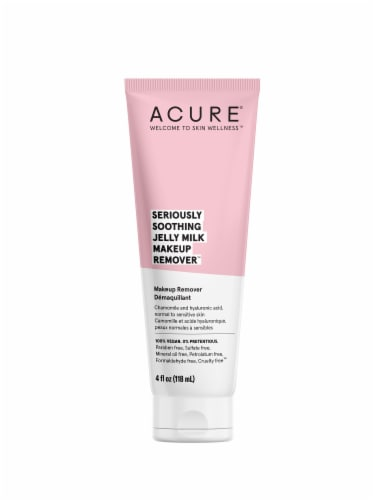 Acure Seriously Soothing Jelly Milk Makeup Remover Perspective: front