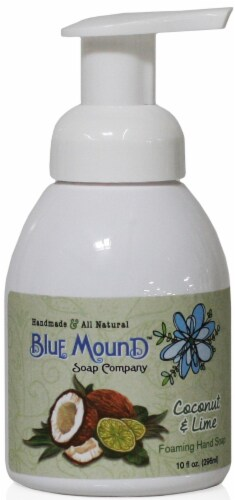 Blue Mound Coconut & Lime Foaming Hand Soap Perspective: front