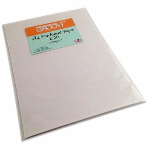 Groovi Parchment Paper A4 x 20 Perspective: front