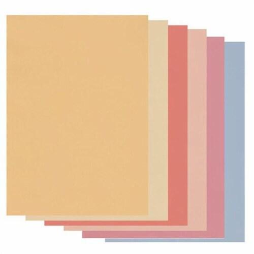 GROOVI Soft Tones Parchment Paper A4 -Mixed Perspective: front