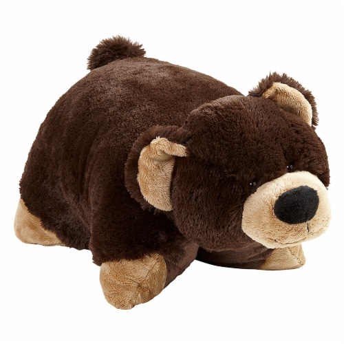 Pillow Pets Mr. Bear Large Plush Toy Perspective: front