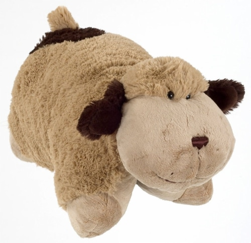Pillow Pets Snuggly Puppy Plush Toy Perspective: front