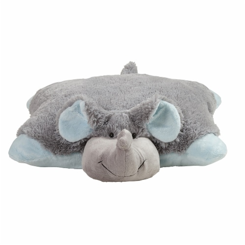 Pillow Pets Nutty Elephant Plush Toy Perspective: front