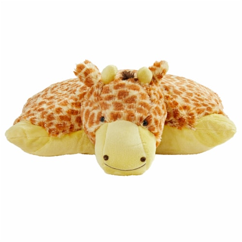 Pillow Pets Jolly Giraffe Plush Toy Perspective: front