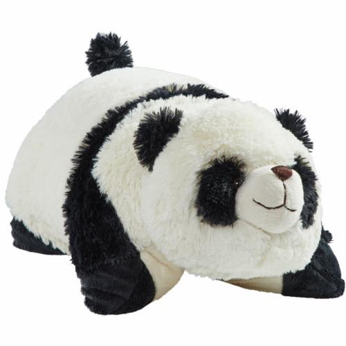 Pillow Pet Comfy Panda Plush Toy Perspective: front