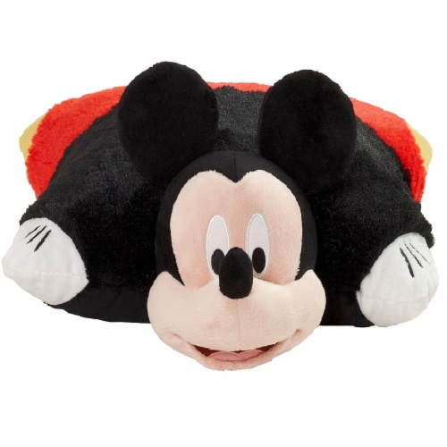 Pillow Pets Jumboz Disney Mickey Mouse Plush Toy Perspective: front