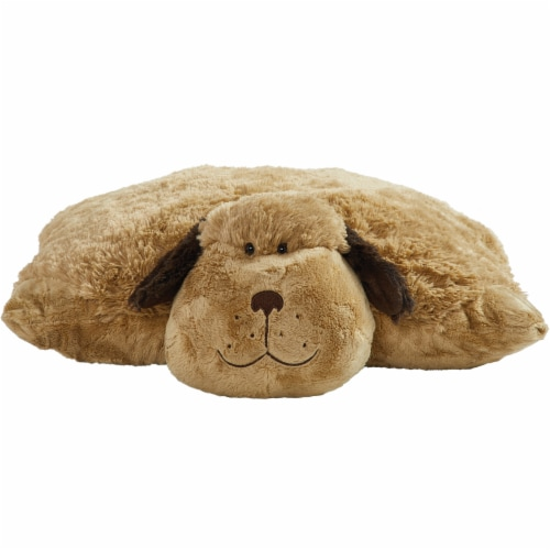 Pillow Pets Jumboz Snuggly Puppy Plush Toy Perspective: front