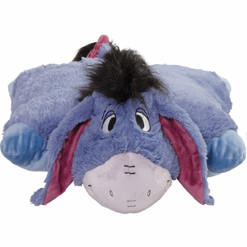 Pillow Pets Jumboz Disney Eeyore Plush Toy Perspective: front