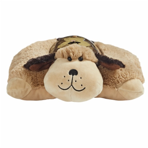 Pillow Pets Snuggly Puppy Sleeptime Lite Plush Toy Perspective: front