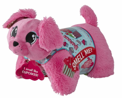 "Pupcake Sweet Scent Pillow Pet, 16"", Pink Perspective: front"