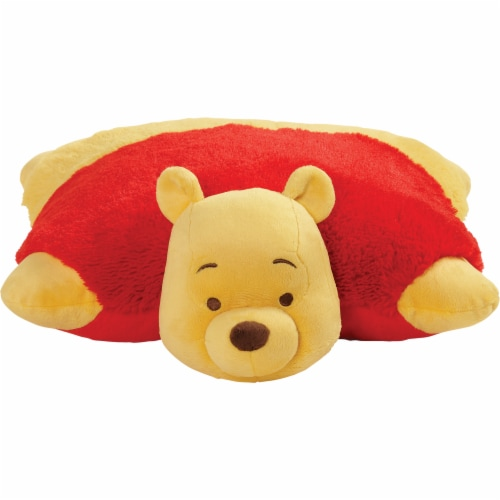 My Pillow Pets Disney Winnie The Pooh Plush Toy Perspective: front