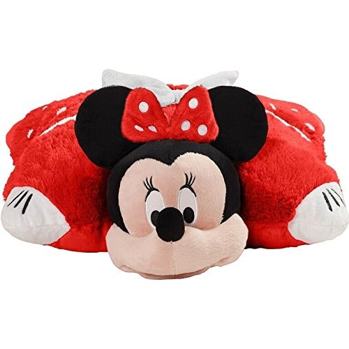 Pillow Pets Disney Rockin' the Dots Minnie Mouse Plush Toy Perspective: front