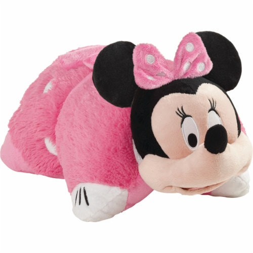 Pillow Pets Disney Minnie Mouse Plush Toy - Pink Perspective: front