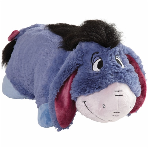 Pillow Pets Disney Eeyore Plush Toy Perspective: front