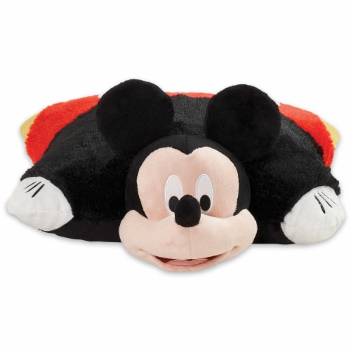 Pillow Pets Disney Mickey Mouse Plush Toy Perspective: front