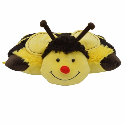 Pillow Pets Bumble Bee Plush Toy Perspective: front