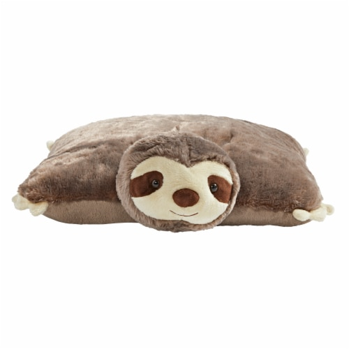 Pillow Pets Original Sunny Sloth Plush Toy Perspective: front