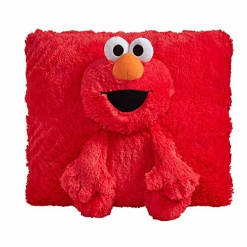 Pillow Pets Sesame Street Elmo Plush Toy Perspective: front