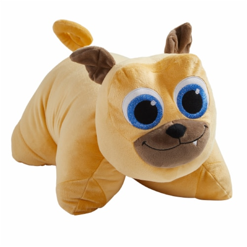 Pillow Pets Puppy Dog Pals Rolly Plush Toy Perspective: front