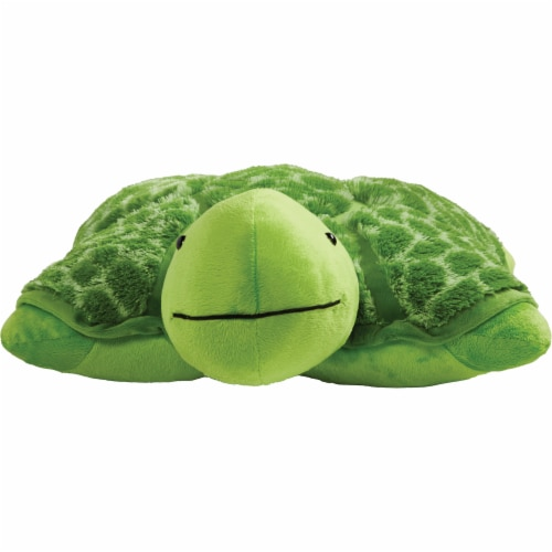Pillow Pets Teddy Turtle Plush Toy Perspective: front
