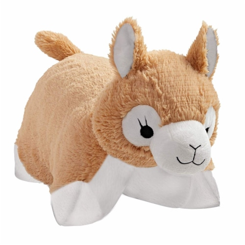 Pillow Pets Signature Lovable Llama - Stuffed Animal Plush Toy Perspective: front